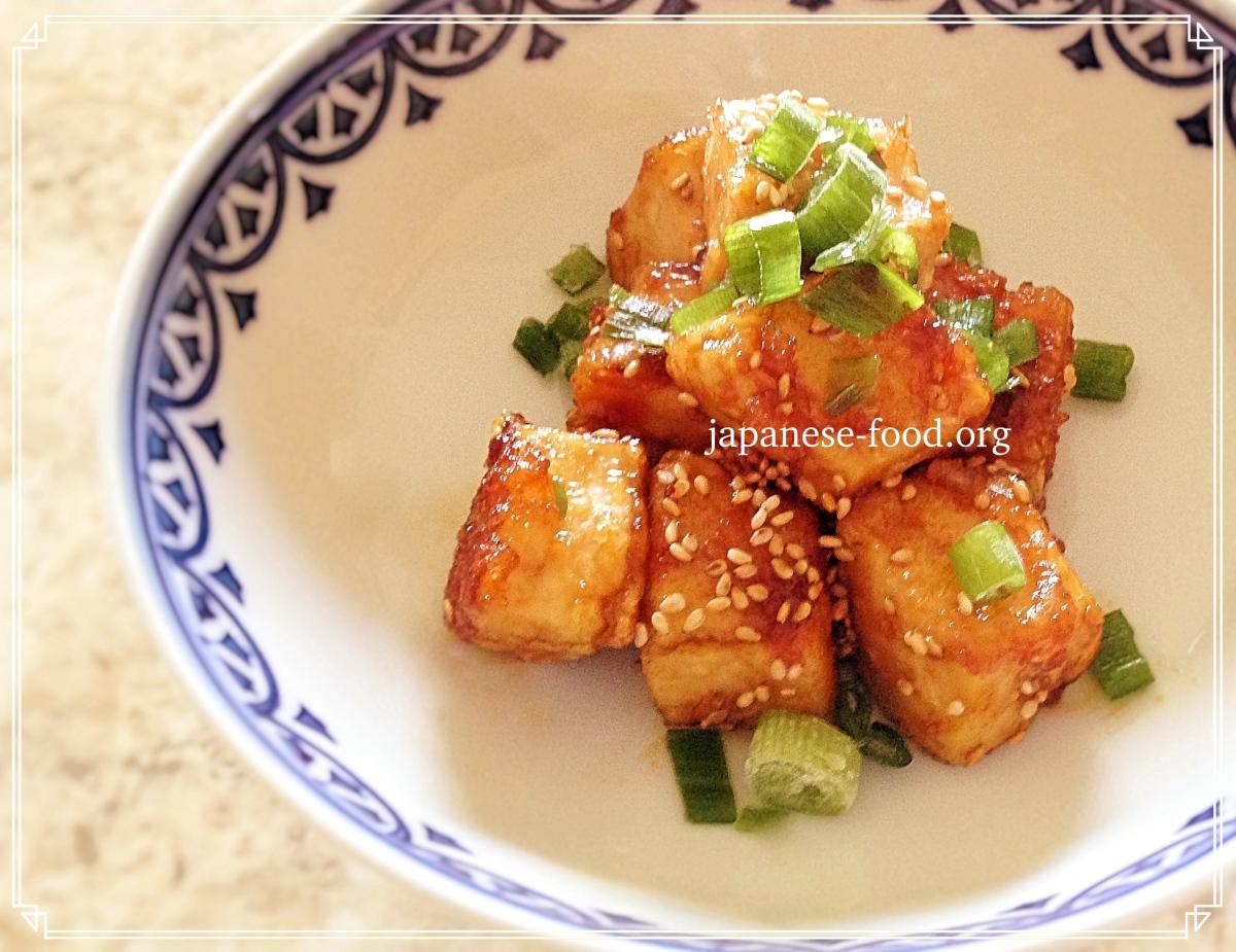 Sesame Tofu (vegan/vegetarian/gluten-free)